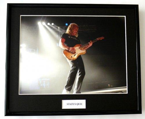 Framed Photo Status Quo/Foto, gerahmt, 4 Stück