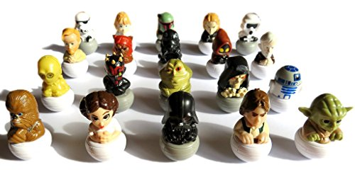 Star Wars 2016 Rollinz Esselunga 5 figurines différentes choisis au hasard