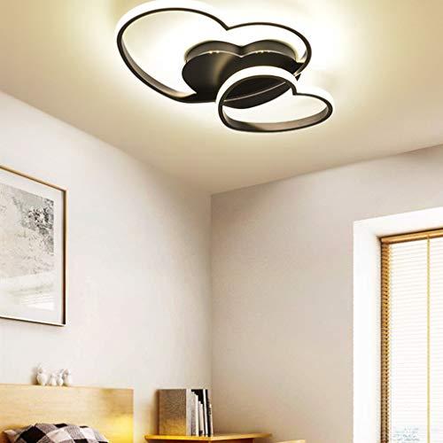 Lampada Da Soffitto A LED Dimmerabile, Design Moderno A Forma Di Cuore, Lampada Da...