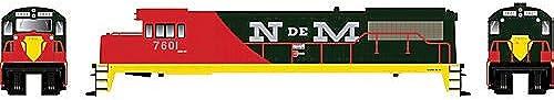 Bowser Spur H0 - Diesellok GE U25B Nacionales de Mexico