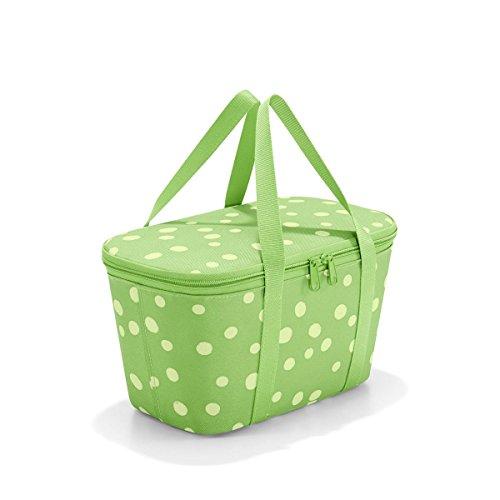 Reisenthel coolerbag XS Spots Green 27,5 x 15,5 x 12 cm / 4 l isoliert