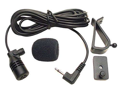 FingerLakes Microphone Mic 2.5mm for Car Vehicle Stereo Radio GPS DVD Bluetooth Enabled Head Unit