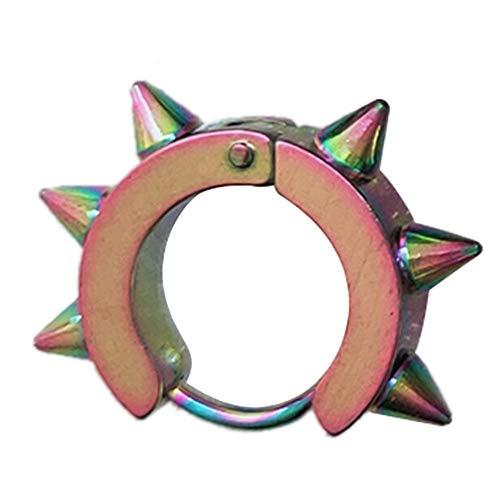 N/V macho de acero inoxidable anillo de oído clip