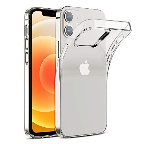 Arktis transparente Handyhülle, TPU-Case kompatibel mit iPhone 12 Mini [kabelloses Laden] Schutzhülle Silikonhülle