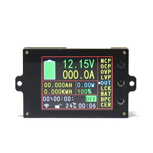 Voltímetro amperímetro, 80 V/500 V, 100 A/200 A/300 A/500 A, multímetro inalámbrico, módulo de pantalla LCD