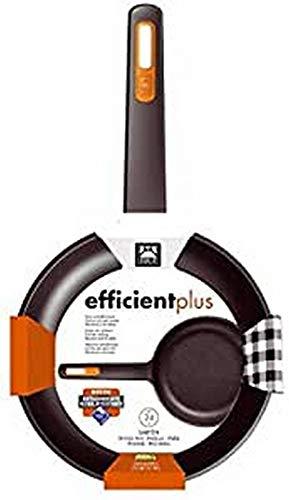 Braisogona A431228 Efficient Plus-Sartén de aluminio fundido (28 cm), negro