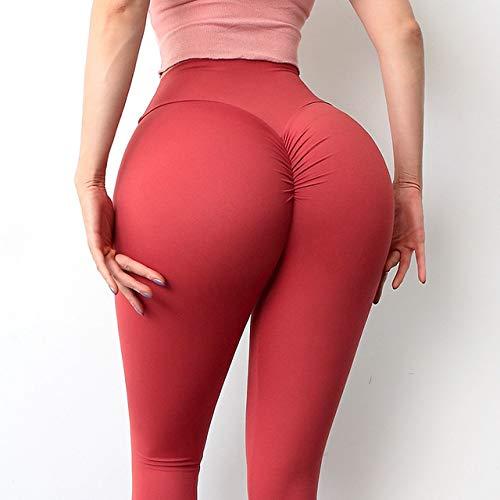 Pantalones de yoga de las mujeres polainas de la aptitud de nylon pantalones de cintura alta mujer caderas push up apretado señoras ropa
