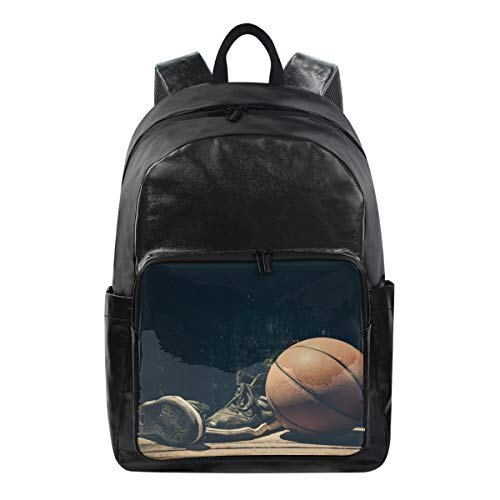 MONTOJ NBA - Zaino sportivo da basket, in tela, unisex, per la scuola