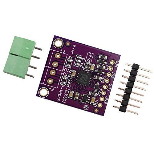 HALJIA PT100 zu PT1000 MAX31865 RTD Platinum Widerstand Temperaturdetektor Thermoelement Sensor Verstärker Modul Kompatibel mit Arduino