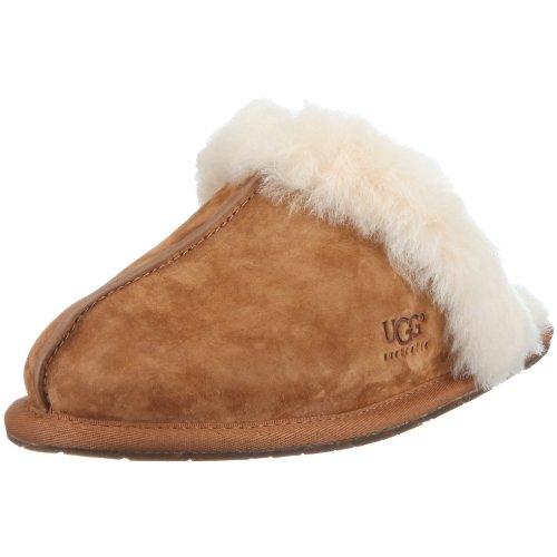 UGG Scuffette II, Pantofole donna, Marrone (Chestnut), 38 EU