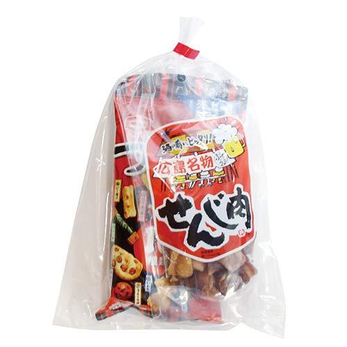 広島名物!せんじ肉入りおつまみお菓子袋詰め A 詰め合わせ 駄菓子 おかしのマーチ