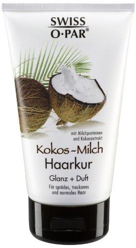 Swiss-o-Par Kokos-Milch Haarkur 150 ml, 3er Pack (3 x 150 ml)