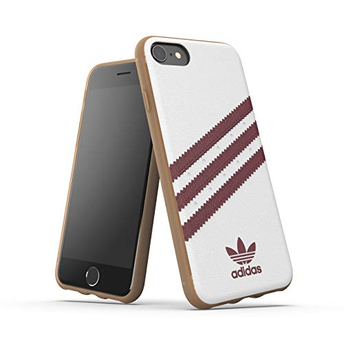 Adidas Originals Samba - Carcasa para iPhone 8, 7, 6S, 6, 6 y 6, Color Blanco