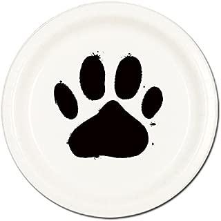 Partypro Dog PAW Dinner Plate(8/PKG)