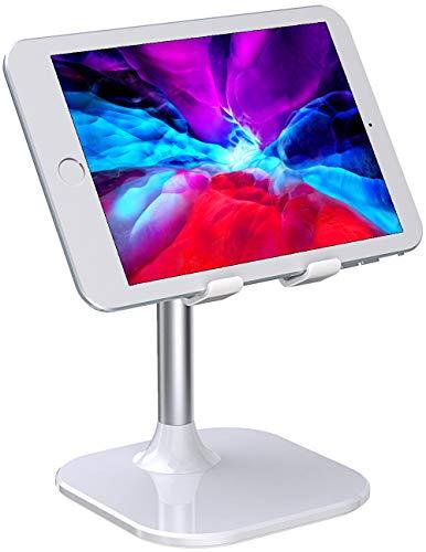 """Babacom Soporte Tablet, Portatil Soporte Movil Mesa, Ajustable Soporte iPad para Teletrabajo o Transmision en Vivo, Compatible con iPad Pro 9.7, iPhone, Samsung, Kindle y Otros 4-10"""" Dispositivos"""