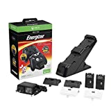 PDP PL-0018 Energizer Xbox One Controller Charger with Rechargeable Battery Pack for Two Wireless Controllers Charging Station Black (Package May Vary)