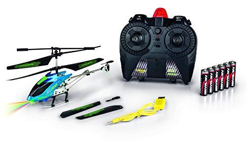 CARSON 500507132 - Easy Tyrann 200 Boost IR 100% RTF, Ferngesteuerte Flugmodelle, Flugfertiges Modell, RC Helikopter, inkl. Batterien und Fernsteuerung, 100% flugfertig