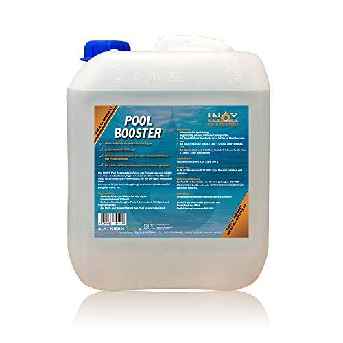 INOX® Pool Booster, 5L - Poolreiniger Algenentferner Pooldesinfektion