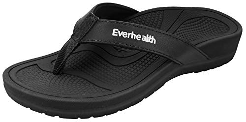Everhealth Orthotic Sandals Stylish Thong Flip Flops Women Ultra Comfort Slippers with Arch...