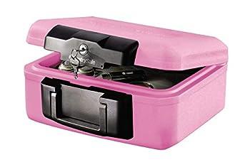 SentrySafe 1200PK Pink BCA Fire Chest