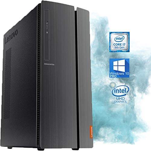 Lenovo IdeaCentre 510A Desktop Computer - Intel Core i7-9700 Upto 4.6GHz, UHD Graphics 630 4K Support, 32GB RAM, 2TB M.2 SSD, HDMI, Wi-Fi, Bluetooth - Windows 10 Pro (RENEWED)