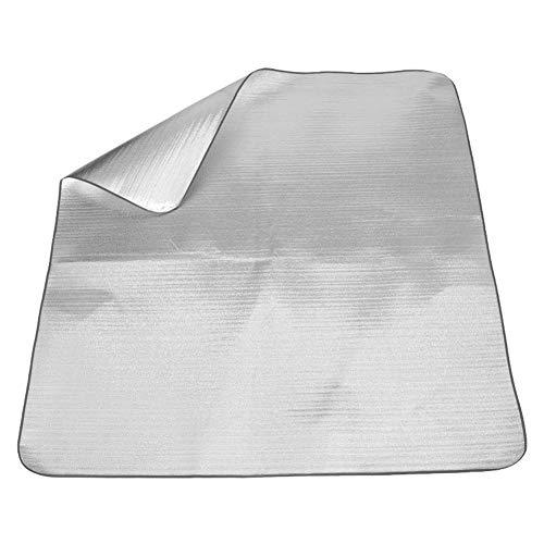 Aluminiumfolie Matte Camping Isomatte Im Freien Picknick-Decke Wasserdicht Feuchtigkeit-Beweis Isomatte Matten-Auflage 200 X 200 cm
