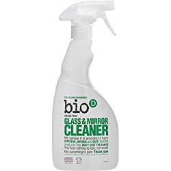Environmentally friendly Glass and mirror spray Cleans and polishes all shiny surfaces Contains only natural based ingredients Solvent and fragrance-free Safe for septic tanks and cesspits