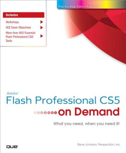 Adobe Flash Professional CS5 on Demand (English Edition)