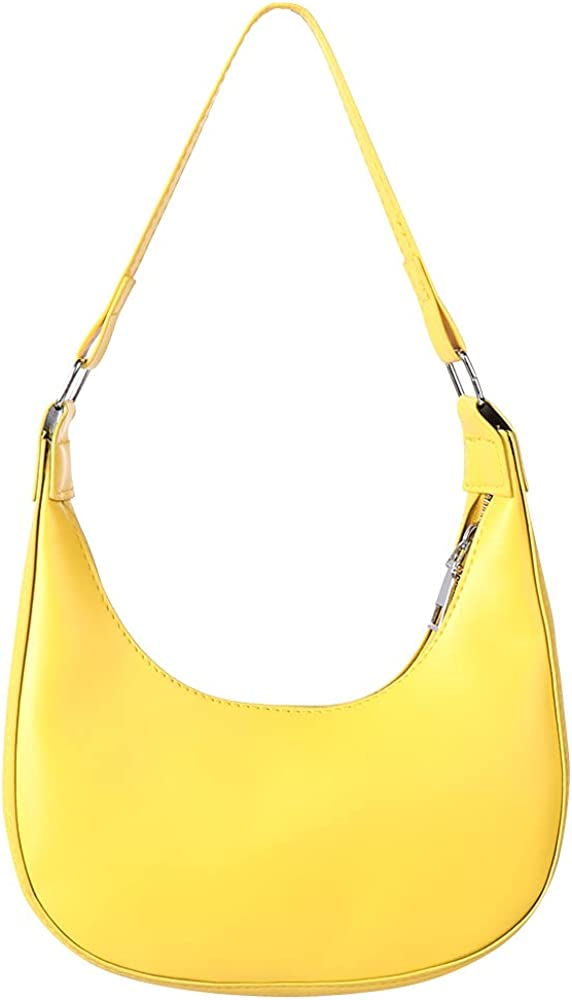 Fashyner Women Zipper Small Purse Pure Color Shoulder Bags Top-handle Handbag Underarm Bags Hobos Bags