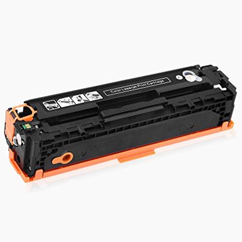 Reemplazo de cartuchos de tóner compatibles para HP 410A CF410A CF411A CF412A CF413A para HP Color LaserJet Pro M452dw M452nw M452dn M477fnw MFP M477fdw Impresora láser con chips-Black