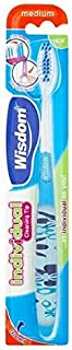 [Wisdom ] 知恵個々のメディアクリーン先端歯ブラシ - Wisdom Individual Medium Clean Tip Toothbrush [並行輸入品]
