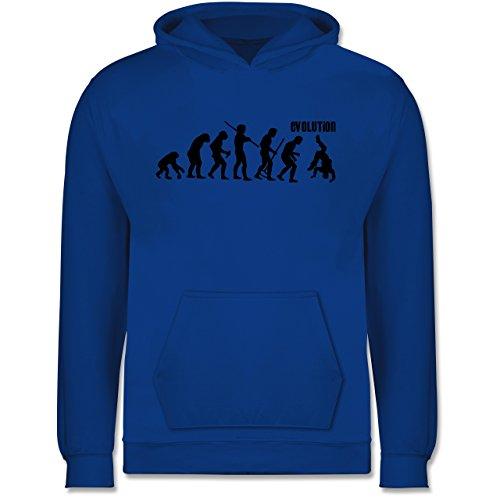 Evolution Kind - Evolution Hip Hop - 116 (5/6 Jahre) - Royalblau - Breakdance - JH001K - Kinder Hoodie