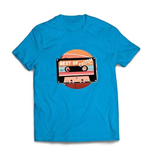 lepni.me Camisetas Hombre Cassette Antiguo Lo Mejor del año