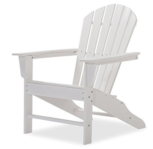 Original Dream-Chairs since 2007 Adirondack Chair All Seasons aus Kunststoff (Weiß)