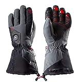 Zanier AVIATOR.GTX UX Lithium Battery Heated Glove, Black, Medium