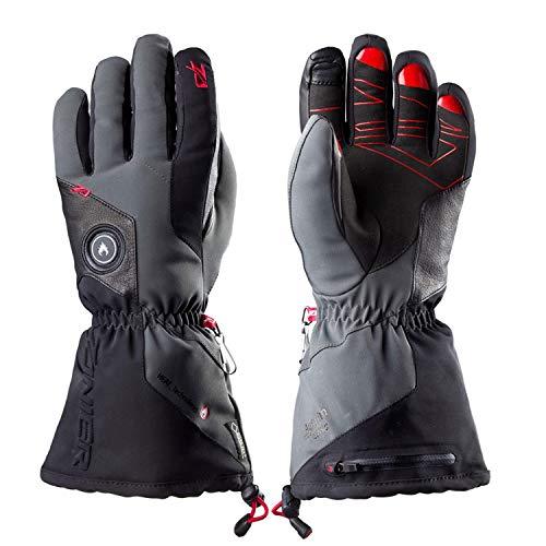 Zanier Aviator. GTX UX Lithium-Akku Beheizte Handschuh, schwarz, Medium, Unisex, 28033, Schwarz, XXL
