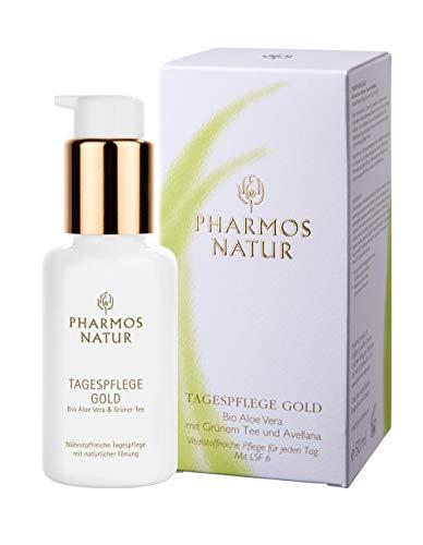 PHARMOS NATUR – INTENSIVPFLEGE – TAGESPFLEGE GOLD – 50 ML