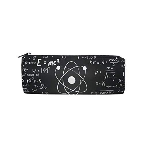 Estuche para lápices Fórmula matemática científica para la educación, estuche para lápices, estuche para bolígrafos, estuche con cremallera, estuche para estuches, estuche para brochas de maquillaje