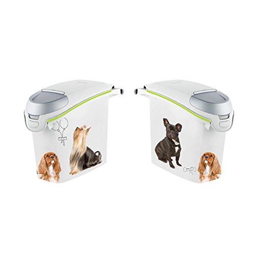 Curver Petlife Hund Futterbehälter, 6 KG (15 Liter), EF505825