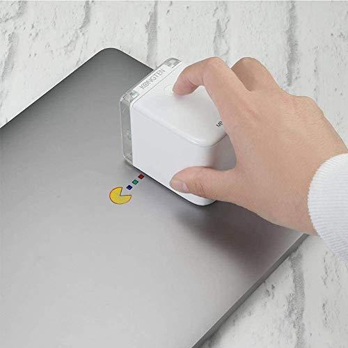 L-SLWI Mini Impresora Portátil, Impresora A Color Móvil Bluetooth, Tinta De Secado Rápido, La Impresión De Inyección De Tinta, El Texto De Encargo, Código De Barras, La Imagen De