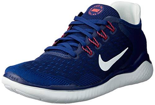 Nike Damen WMNS Free Rn 2018 Leichtathletikschuhe, Mehrfarbig (Blue Void/Ghost Aqua/Indigo Force 404), 36 EU