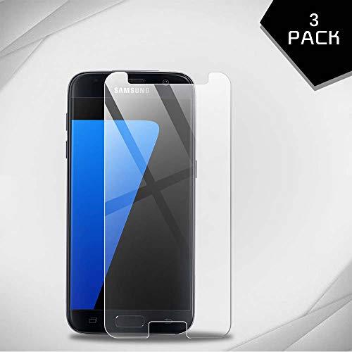 Aribest Panzerglas Schutzfolie Für Samsung Galaxy S7, 3 Stück Galaxy S7 Panzerglasfolie,Anti-Kratzer,Blasenfrei, Galaxy S7 Displayschutzfolie