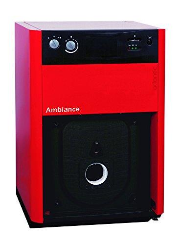 Caldera solo calefacción al suelo ambiente 4100 acero gasóleo/GN 25 kw Mod. 4125 ref 026473