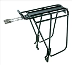 Topeak Super Tourist Tubular Bicycle Rack DX with Side Bar for Disc Brake Bikes