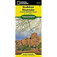 Bradshaw Mountains [Prescott National Forest] (National Geographic Trails Illustrated Map)【洋書】 [並行輸入品]