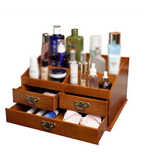 XYZMDJ La Caja de Madera for Productos de Belleza for el Almacenamiento...
