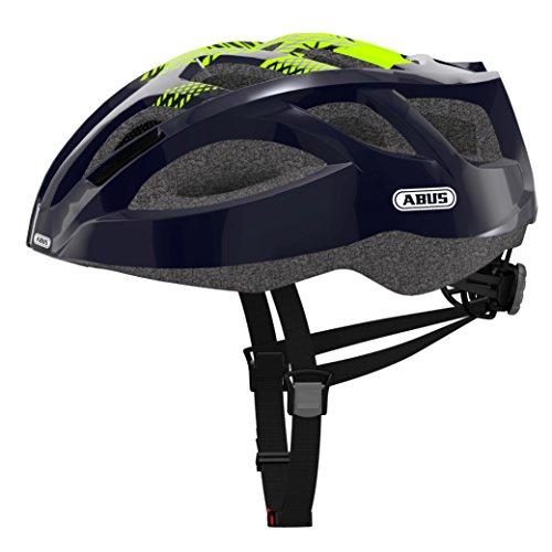 Abus Ambition Team Casco Bicicleta, Unisex Adulto, Azul, M