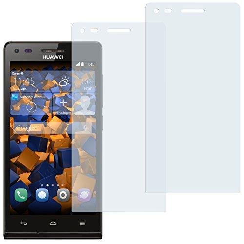 mumbi Schutzfolie kompatibel mit Huawei Ascend P7 Mini Folie klar, Displayschutzfolie (2x)