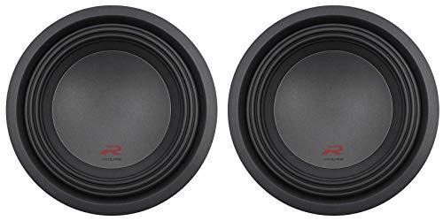 (2) Alpine R-W10D2 10' Type-R 2250w Dual 2-Ohm Car Audio Subwoofers Subs RW10D2