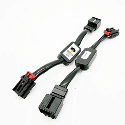 2x semi dynamische Blinker Module Adapter für LED Rückleuchten Laufblinker passend für Golf 6 7